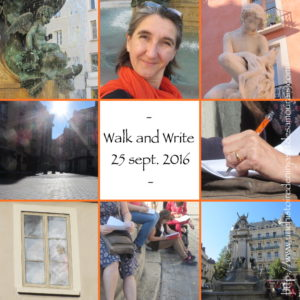 Walk-and-Write en 8 images