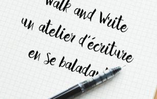 Walk and Write, deuxième ! Action !