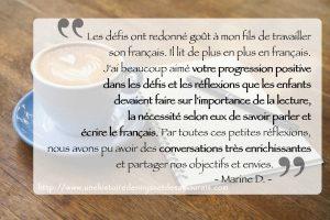 Témoignage autour d'un café