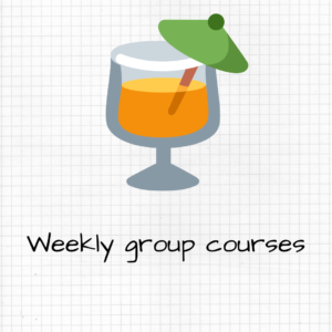 weekly group courses
