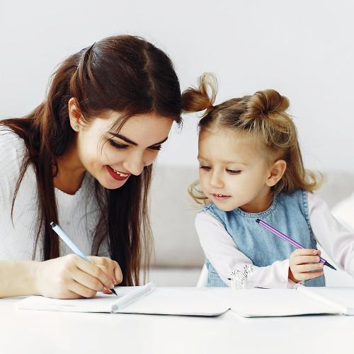 maman et fille motivées